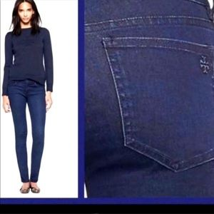 Tory Burch Cropped Skinny Jean 27